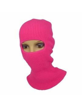 1 Hole Ski Mask Neon Pink