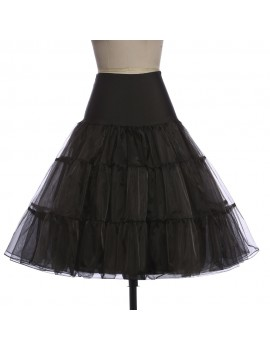 Black net petticoat underskirt Brilliant Sisters
