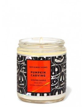 Bath & Body Works Pumpkin Carving Single Wick Candle