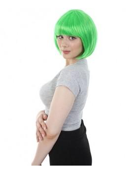 Green Short Bob Wig