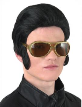 Elvis 70s Levi Black Wig