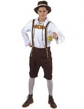 Bavarian Man Oktoberfest Costume