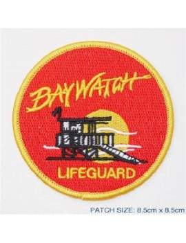 Baywatch Lifeguard Costume Patch