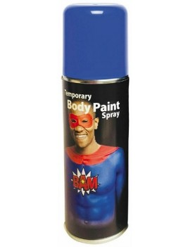 Temporary Body Paint Spray Blue 125ml