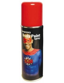 Temporary Body Paint Spray Red 125ml