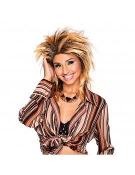 Foxy Rocker Gold Wig