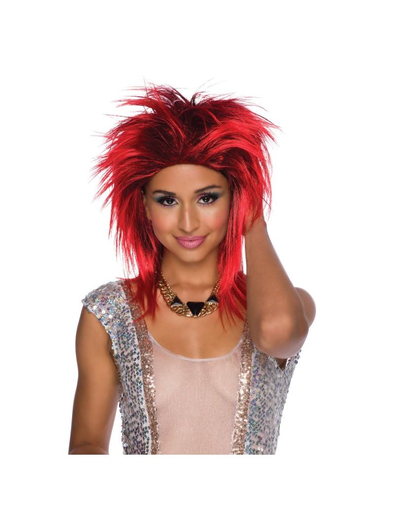 Foxy Rocker Red Wig