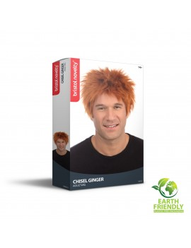 Chucky Ginger Chisel Wig