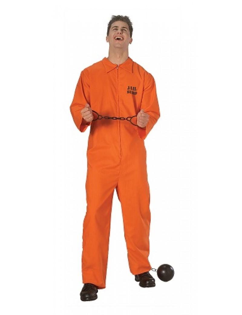 Jail Bird Prisoner Orange Jumpsuit