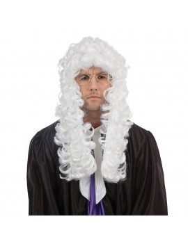 Judge Court White Wig