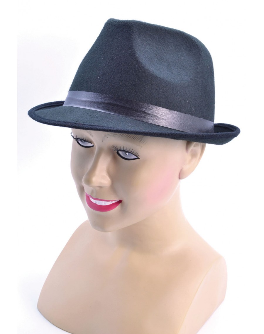 d9a4ef8d Hat-Trilby hat-Pork pie trilby hat-Blues Brothers hat