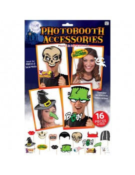 Photo booth Halloween Kit Bristol Novelty X76815