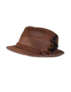 Bavarian Hat Brown