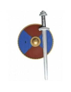 Viking Sword Shield And Axe Set