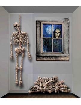 Haunted House Ghastly Giant Wall Decor Bristol Novelty X68914