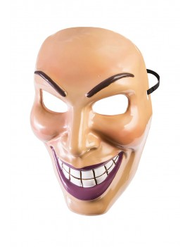 The Purge Grin plastic mask Female Bristol Novelty X79188