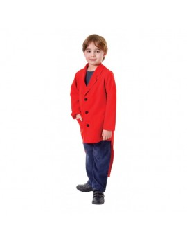 Tailcoat Red Child Costume Bristol Novelty CC466