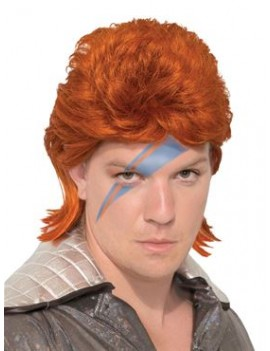 70s Ziggy Starman Wig