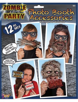 Photo booth Zombie Kit Bristol Novelty X79143