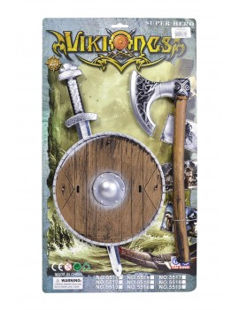 Viking Sword Shield And Axe Set