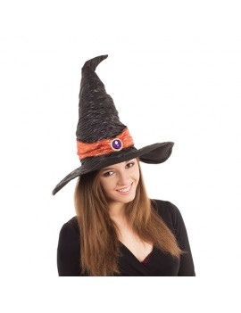Witch Hat Black With Orange Band