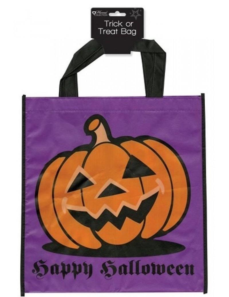 Happy Halloween Pumpkin Trick Or Treat Bag