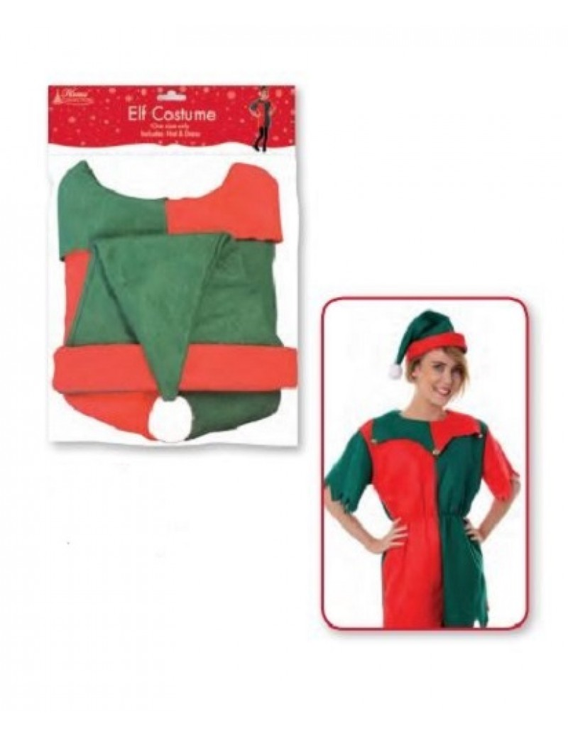 Elf Santa's Helper Costume