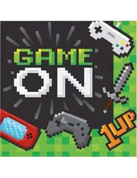 Game On Video Gaming Paper Napkins