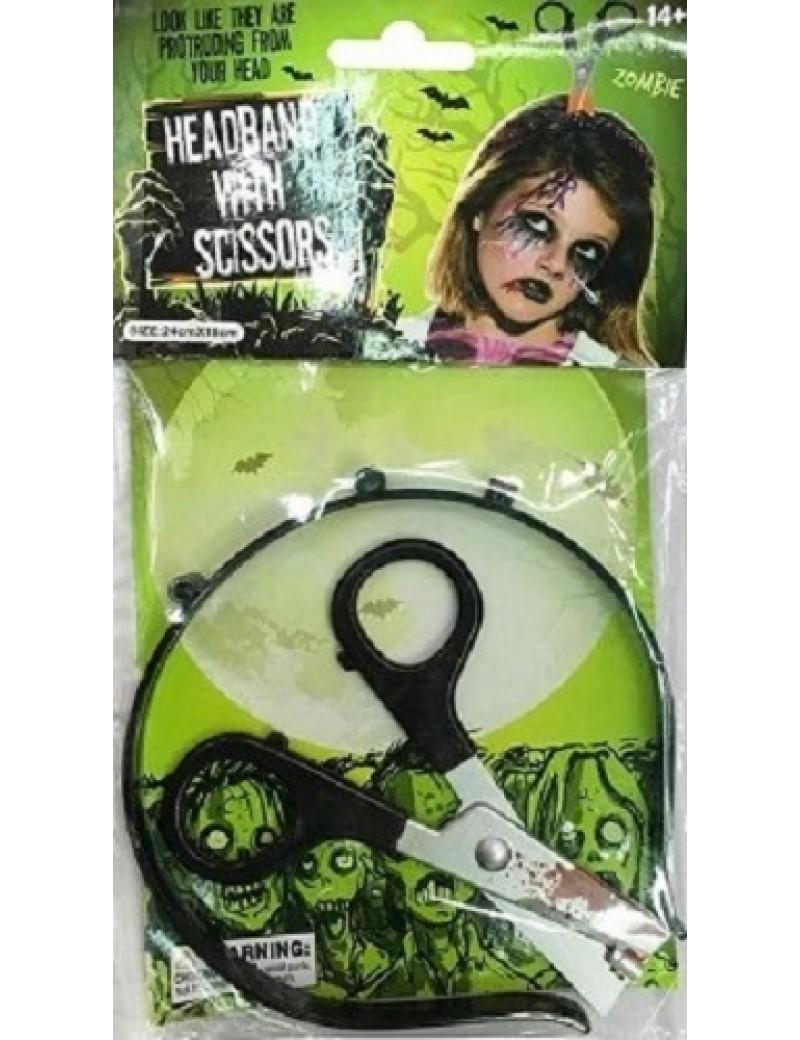 Scissors In Head Headband