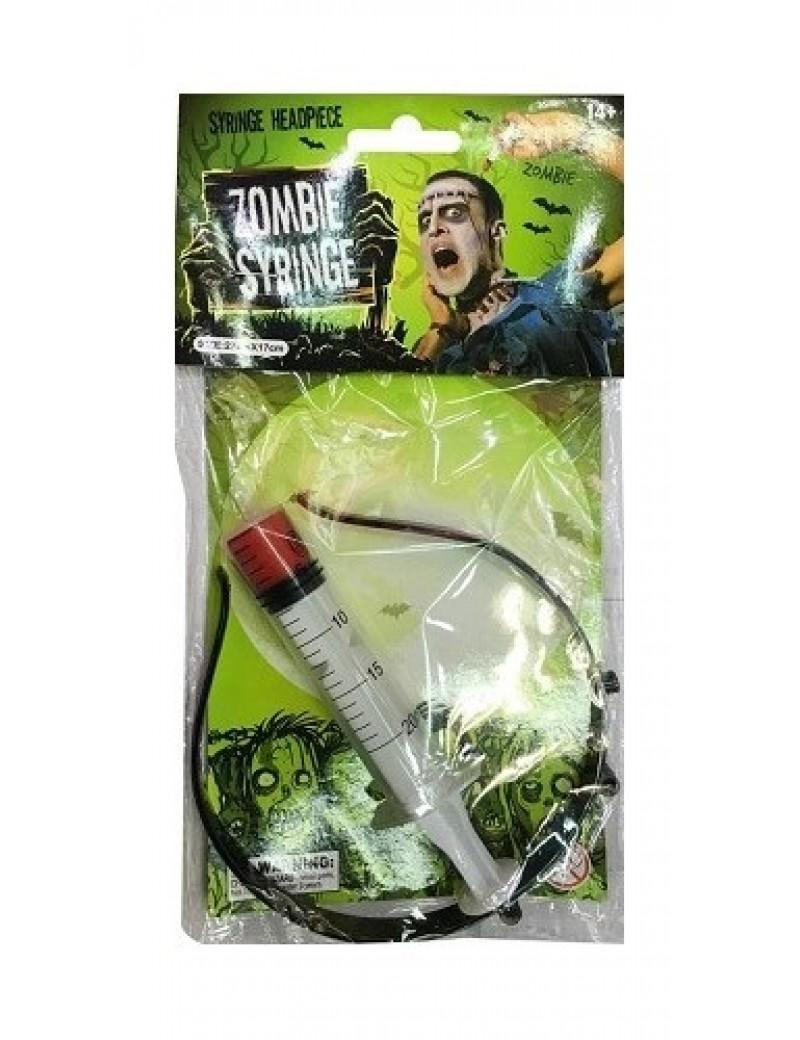 Syringe In Head Headband