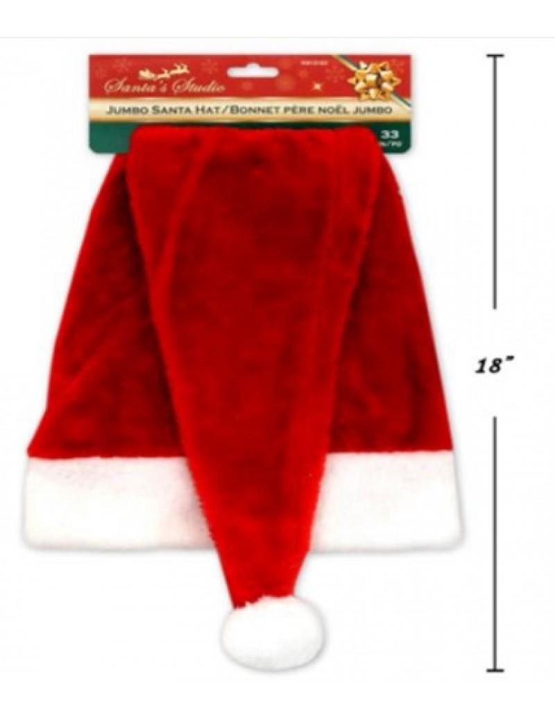 Deluxe Santa Jumbo Hat Extra Long