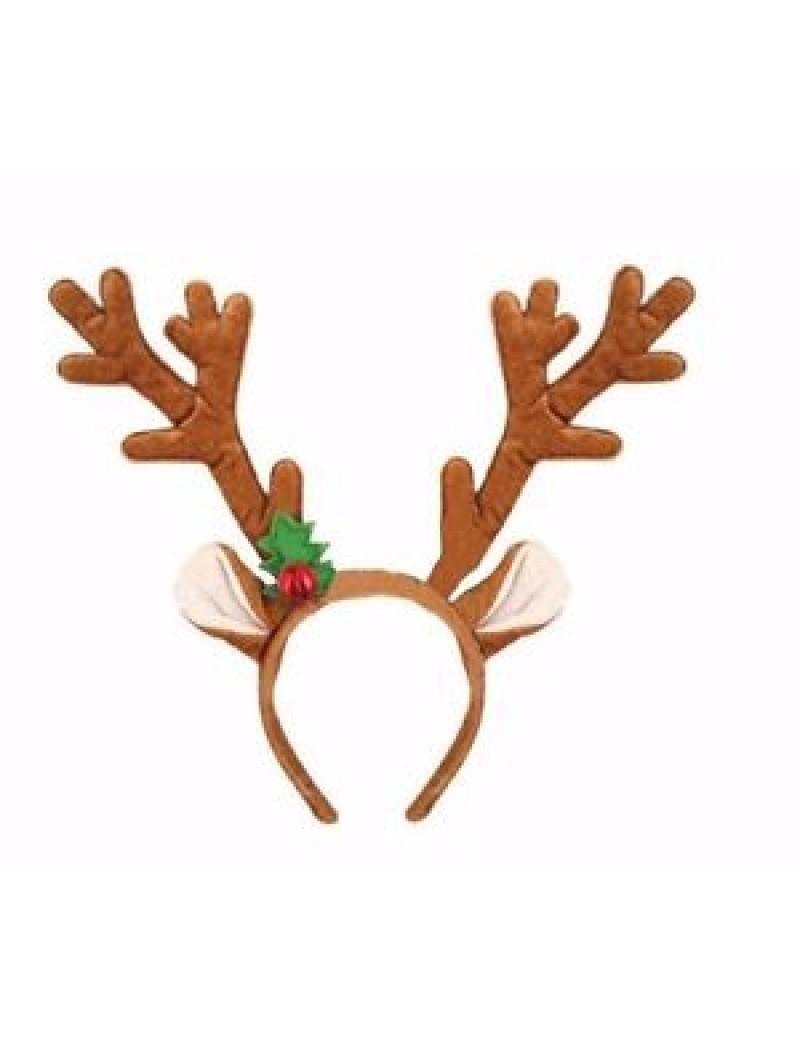 Reindeer Antlers On Headband