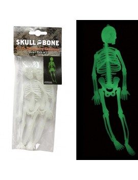 GID Skeletons Pack Of 2