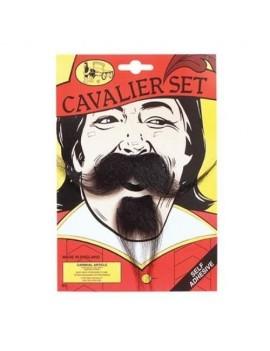 Cavalier Beard Moustache Set