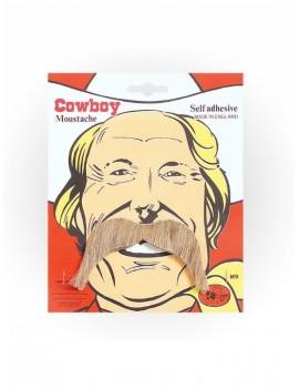Cowboy Moustache Blonde
