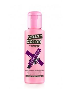 Crazy Color Semi-Permanent Hair Dye 100 ml Aubergine