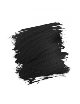 Crazy Color Semi-Permanent Hair Dye 100 ml Black