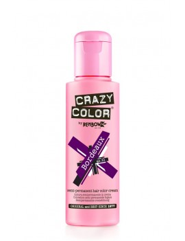 Crazy Color Semi-Permanent Hair Dye 100 ml Bordeaux