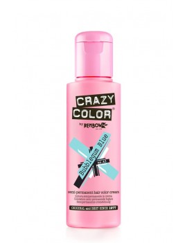 Crazy Color Semi-Permanent Hair Dye 100 ml Bubblegum Blue