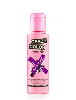 Crazy Color Semi-Permanent Hair Dye 100 ml Burgundy