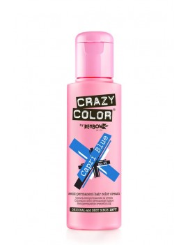 Crazy Color Semi-Permanent Hair Dye 100 ml Capri Blue