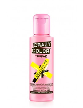 Crazy Color Semi-Permanent Hair Dye 100 ml Caution UV