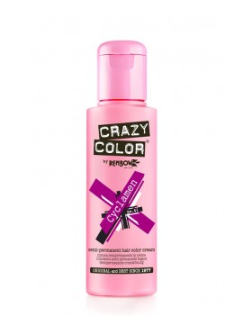 Crazy Color Semi-Permanent Hair Dye 100 ml Cyclamen