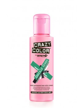 Crazy Color Semi-Permanent Hair Dye 100 ml Emerald Green