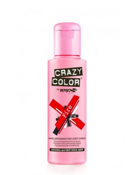 Crazy Color Semi-Permanent Hair Dye 100 ml Fire