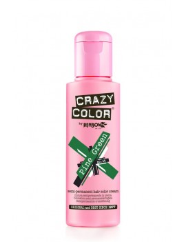 Crazy Color Semi-Permanent Hair Dye 100 ml Pine Green