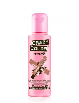 Crazy Color Semi-Permanent Hair Dye 100 ml Rose Gold