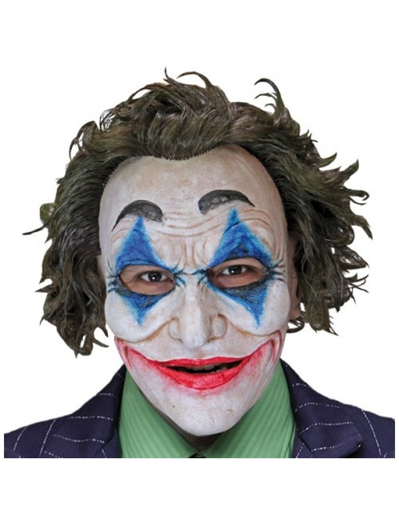 Crazy Jack The Joker Perfect Fit Clown Mask