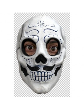 Skeleton Day Of The Dead Monsieur Catrin Mask