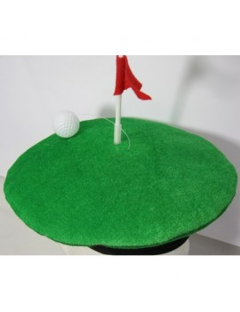 Golf Green Novelty Hat